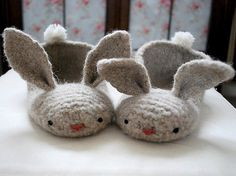 hopsalots felted slippers pattern by tiny owl knits — women's sizes 5-10