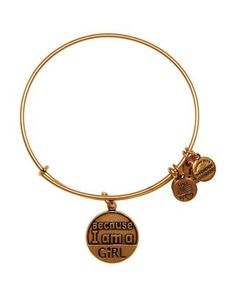 Alex and Ani Because I am a Girl Expandable Wire Bangle, Charity by Design Collection | Bloomingdale's
