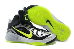 best service 50912 d891e Mens Nike Hyperdunk 2014 New York City Dark Grey-Volt Cheap Nike Running  Shoes,