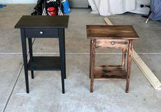 Refinish an Ikea Hemnes Nightstand - DIYwithRick