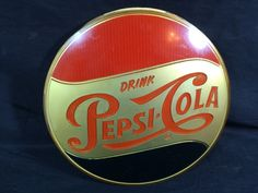 #pepsi #vintagepepsi #pepsicola #generalstore #diner Vintage Pepsi Cola Sign Soda Fountain Diner General Store Advertising