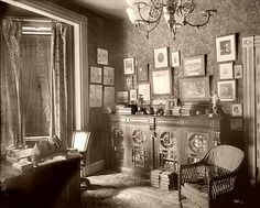 Victorian parlor 1890's | Flickr - Photo Sharing!