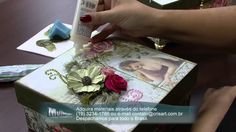 Mulher.com 10/10/2014 - Caixa Scrap por Marisa Magalhães Parte 2
