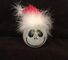 Jack Skellington Nightmare before Christmas  shatterproof Christmas ornament by kits257 on Etsy