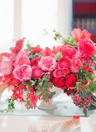 Image result for carolyne roehm floral arrangements in pink