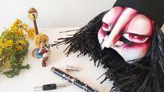 Geschichten aus dem Nähkästchen #17 Halloween Face Makeup, Crowns