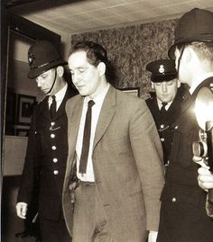 Ronald Briggs, sentenced to 30 years in prison for his role in the Great Train Robbery - UK - 15 April 1964