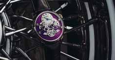 The independent Swiss Watch Brand MB&F has unveiled one new product: the Legacy Machine No. The purple color! Swiss Watch Brands, Luxury Watch Brands, Luxury Watches For Men, Purple Gold, White Gold, Expensive Watches, Mechanical Watch, Digital Watch, Quartz Watch