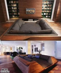 couch/bed thing. looks comfy!