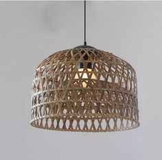 Euro style creative countryside leisure rattan pendant lamp light