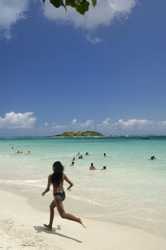 Gorgeous Guadeloupe: 8 Perfect Beaches: Datcha Beach, Gosier, Grand-Terre