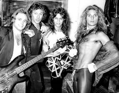 David Lee Roth, Eddie Van Halen, Famous Musicians, Your Smile, Bad Boys, Rock Bands, Rock N Roll, Kicks, Wonder Woman