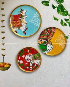 Madhubani Paintings Peacock, Madhubani Art, Pichwai Paintings, Indian Art Paintings, Indian Wall Art, Indian Traditional Paintings, Kerala Mural Painting, Mandala Art Lesson, India Art