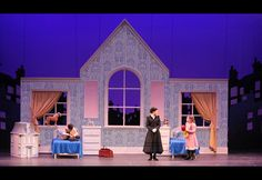 Mary Poppins Set Rental Package - Fourth Wall Scenic Mary Poppins Musical, Mary Poppins Theatre, Mary Poppins Broadway, Mary Poppins Kostüm, Set Theatre, Set Design Theatre, Kids Theatre, Theatre Group, Theatre Stage
