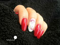manichiura cu oja rosie si maci  poppy nail art Nailed It, Poppy Red, Red Poppies, Red Nails, Nail Art, Beauty, Red Toenails, Red Nail, Nail Arts