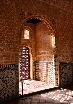 Hall of the Ambassadors - Alhambra