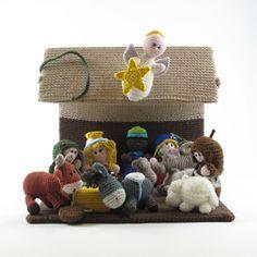 Nativity set (all patterns) amigurumi crochet pattern by Woolytoons