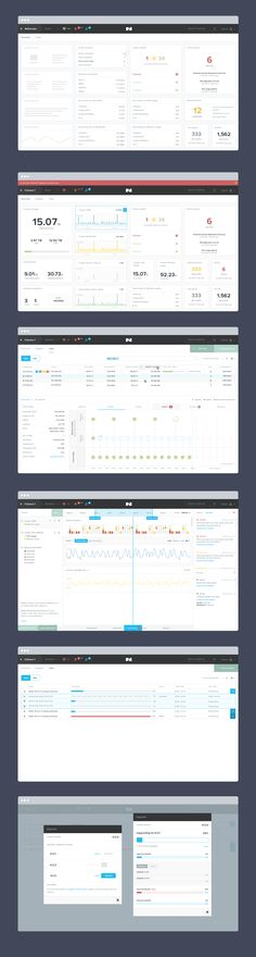 Cluster monitoring dashboard