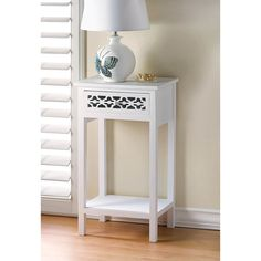 Florentine Wooden End Table