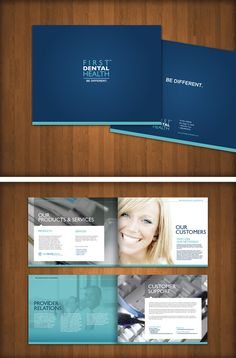 First Dental Health by Skybox Creative , via Behance Only typographic logo, doesnt have to be boring