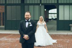 [Wedding] Jaclyn & Dylan – Maritime Parc in Jersey City, NJ Wedding Season, Wedding Day, Wedding First Look, Warehouse Wedding, Black Tux, Jersey City, Sparklers, Badgley Mischka, Floral Design