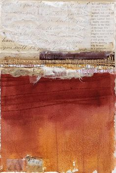 Judy Neunuebel Collage Water Media Artist