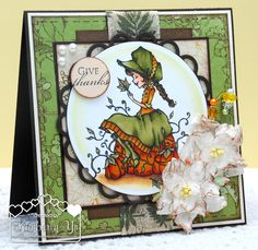 Handmade Thanksgiving Card by kimbeesdesigns on Etsy