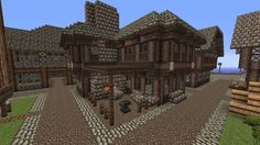 [WIP] [Fantasy] [Medieval] Tales of Aeacus - Minecraft Forum: A very fine blacksmith structure.