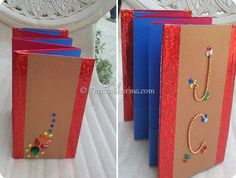 Easy Mini Accordion Style Photo Book {Tutorial}