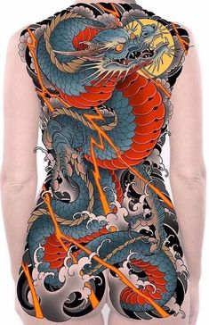 Japanese Pheonix Tattoo, Japanese Back Tattoo, Japanese Tattoo Symbols, Japanese Dragon Tattoos, Japanese Tattoo Designs, Backpiece Tattoo, Hannya Tattoo, Yakuza Tattoo, Tattoo Mafia