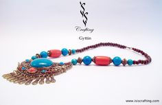 www.isiscrafting.com  A #classic piece showcasing the best of #Indian #traditional #jewelry, you can wear this #fashion #accessory to any #party and you would turn heads #around. with #IsisCrafting