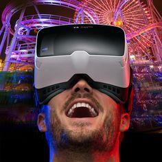 ZEISS VR ONE Plus Brille inkl. Handyslot - Das bessere 3D-Erlebnis: Headtracking und 100°-Sichtfeld (statt oft nur 45°). Multimedia, Nerd, Concept, General Eyewear, Life, Otaku