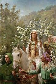 Image result for brigit celtic queen