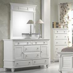 Found it at Wayfair - Norfolk 6 Drawer Combo Dresser with Mirror
