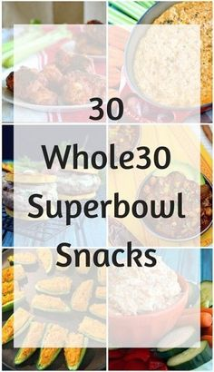 From wings to sliders to chili and more, the perfect gluten-free, paleo gameday eats roundup! Healthy Superbowl Snacks, Game Day Snacks, Game Day Food, Healthy Meals, Whole 30 Snacks, Whole 30 Recipes, Paleo Recipes, Real Food Recipes, Snacks Recipes
