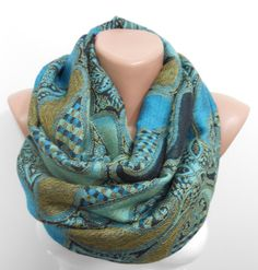 MOTHERS DAY Gift For Mom Pashmina Scarf Mothers Day Gift Oversized Scarf Blue Infinity Scarf Men Scarf Women Fashion Accessory Christmas Gif