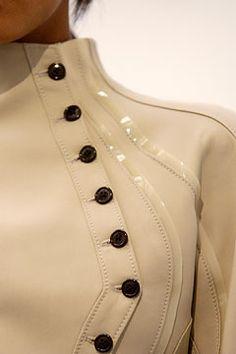 Balenciaga by Nicolas Ghesquiere / Spring 2004 / #buttons