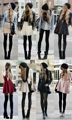 Outfits with Tights
