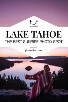 Planning a trip to Lake Tahoe and want to know where to find the best photography locations. In this guide we'll share our best photography spots at Lake Tahoe and how to get there. From amazing sunrises at Emerald Bay to crystal clear water at Sand Harbor Beach and many more. | What to do at Lake Tahoe | Lake Tahoe best places to go | Lake tahoe photography | Lake Tahoe summer | Lake Tahoe winter | Lake Tahoe vacation | Instagrammable spots Lake Tahoe | #laketahoe Lake Tahoe Summer, Lake Tahoe Vacation, South Lake Tahoe, Cabins In Lake Tahoe, Usa Travel Guide, Travel Usa, Travel Guides, Travel Tips, California Camping