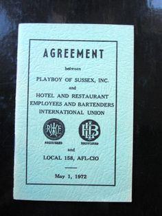 Playboy Club Employee Handbook 1972/Paper Ephemera by Folkaltered, $195.00