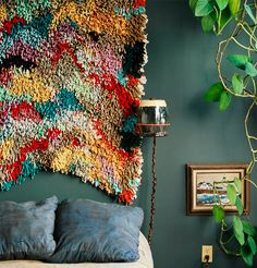 """We're """"Wall"""" Over It: 17 Textile Wall Hangings We Love via Brit + Co."""
