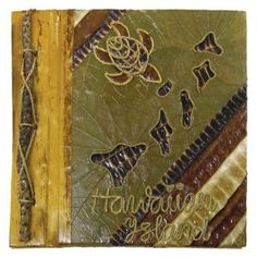 "Hawaii Photo Album Islands & Turtle 12"""" x 14"""""