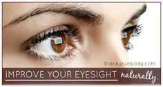 Would you like to know how to improve your eyesight? Would you like to do it naturally? Learn about some simple exercises to improve your eyesight.