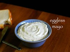 eggless mayonnaise recipe, veg mayonnaise recipe, eggless mayo with step by step photo/video. thick creamy condiment as a spread to sandwiches or as dips. Egg Free Mayo Recipe, Eggless Mayonnaise Recipe, Recipe For 4, Wrap Recipes, Veg Recipes, Indian Food Recipes, Vegetarian Recipes, Cooking Recipes, Sauces