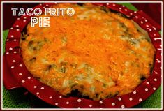 This is just a fun little recipe that sort of takes tacos and nachos and combines them in a pie or casserole!   Try this on your ...