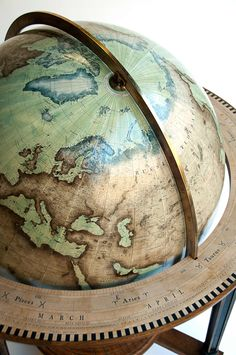 """""""The Galileo"""" There is a company in London that still makes globes by hand"""