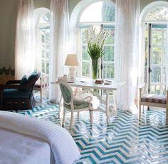 amazing chevron floors