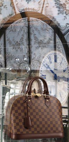 Alma PM Damier Ebene Canvas - Louis Vuitton Purses And Handbags 488588d5fcb35