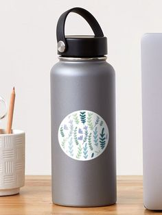 """""""Spring pattern"""" Sticker by Loucreations 