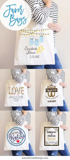 Favor bags that everyone will love! @zcreatedesign